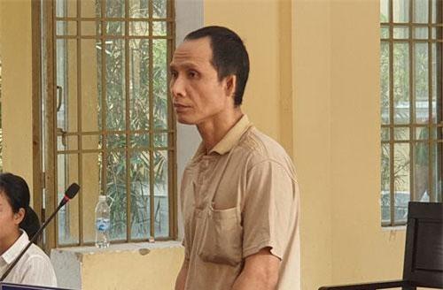 Bị cáo Lập tại phiên tòa.