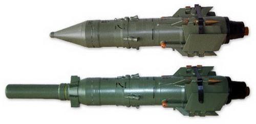 Hai thế hệ tên lửa chống tăng Malyutka đời đầu và Malyutka 2M. Ảnh: Army Recognition.