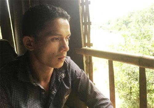 Anh Hà Văn Vân đau đớn khi cùng lúc có 6 người thân mất tích trong lũ.