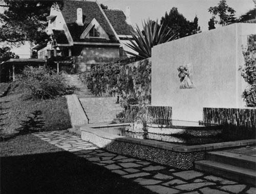 Biệt thự Hồng Ngọc trước năm 1963. Ảnh: Trung tâm Lưu trữ quốc gia II.