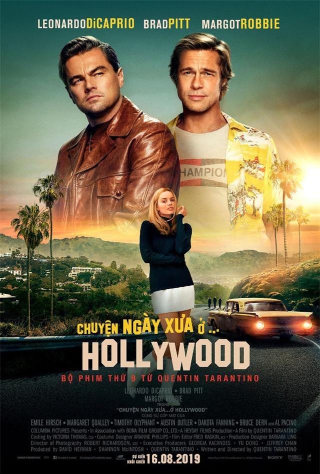 Poster của bộ phim Chuyện Ngày Xưa Ở… Hollywood