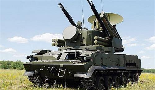Hệ thống tên lửa - pháo phòng không Tunguska-M1 của Phòng không Lục quân Nga. Ảnh: Military Today.