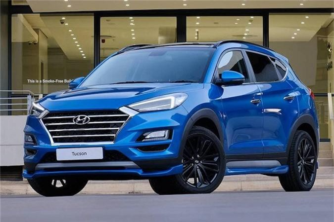 Hyundai Tucson Sport mới.