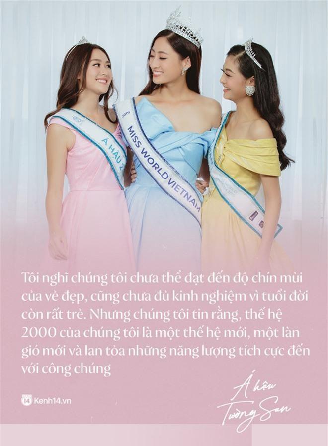 Top 3 Miss World Việt Nam 2019: Tân hoa hậu khẳng định không có ý định phẫu thuật thẩm mỹ, 2 á hậu gây thuyết phục bởi sự tự tin, khôn khéo - Ảnh 9.