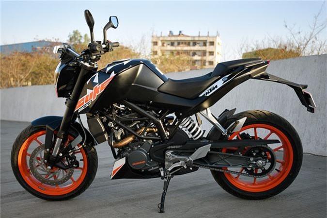 KTM 200 Duke.