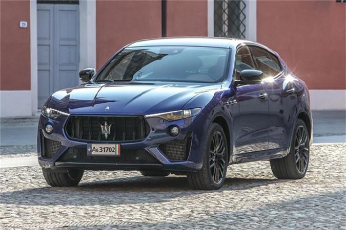 Maserati Levante Trofeo mới.