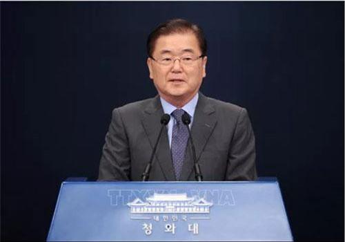 Ông Chung Eui-yong. (Ảnh: Yonhap/TTXVN)