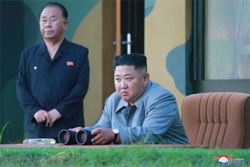 Chủ tịch Triều Tiên Kim Jong-un (Ảnh: EPA-EPE)