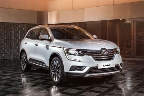 10. Renault Samsung QM6 (doanh số: 4.262 chiếc).