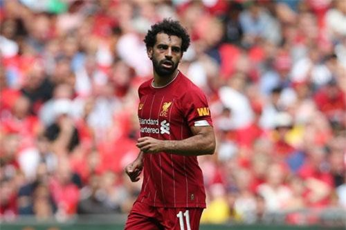 3. Mohamed Salah (Liverpool).