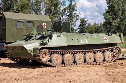 Trong ảnh là một mẫu xe thiết giáp MT-LB dành cho quân y mà Việt Nam có thể được vận hành trong kỳ hội thao quân sự quốc tế tại Nga. Nguồn ảnh: Wikipedia