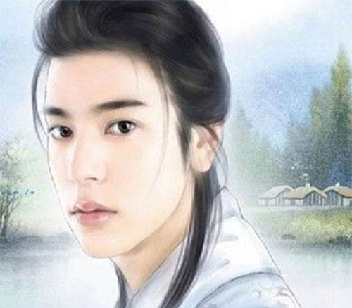 Vẻ đẹp của Hàn Tử Cao dưới ngòi bút của họa sĩ hiện đại. (Ảnh: Internet)