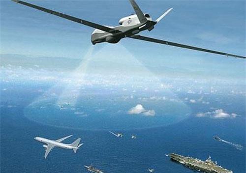 UAV MQ-4C Triton của Mỹ.