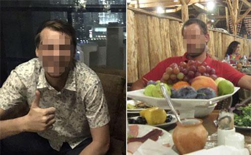 Hình ảnh đầu tiên về hai đối tượng tình nghi trong ổ gián điệp CIA mà Iran vừa triệt phá. Ảnh: Tasnim News Agency.