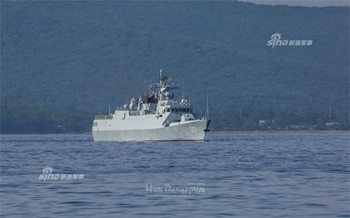 Tàu hộ vệ tàng hình chống ngầm Type 056A của Hải quân Trung Quốc. Ảnh: Sina.