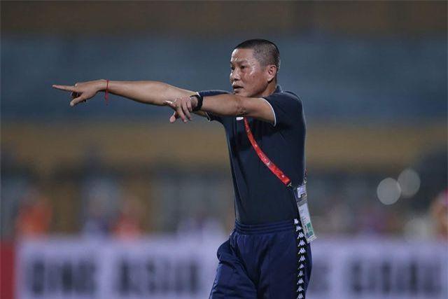 HLV Chu Đình Nghiêm khẳng định CLB Hà Nội sẽ chơi hết mình ở AFC Cup - Ảnh: Gia Hưng
