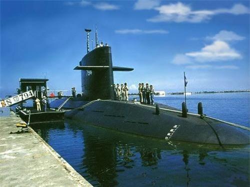 Tàu ngầm ROCS Hai Hu (SS-794) của Hải quân Đài Loan. Ảnh: Wikipedia.