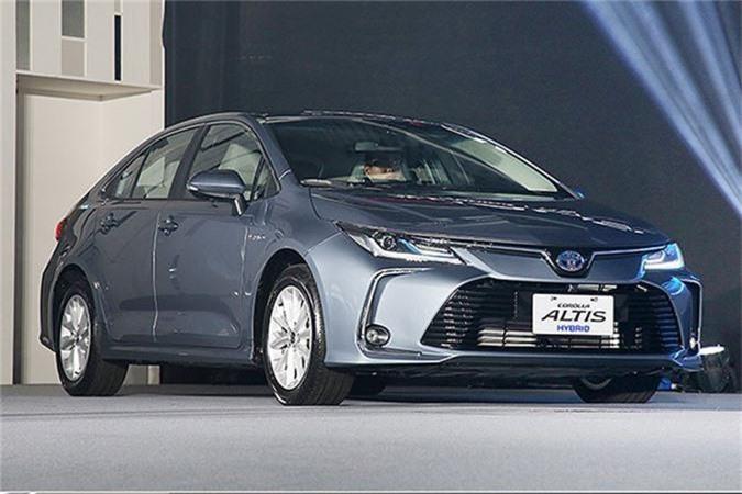 Toyota Corolla Altis tại Thái Lan sẽ gồm 6 phiên bản khác nhau.
