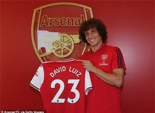 Arsenal chính thức chiêu mộ thành công David Luiz - 2