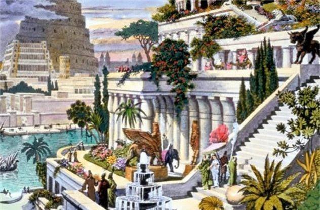 Giai ma qua soc: Vuon treo Babylon chua tung ton tai?
