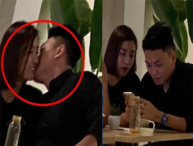 Đỗ Mỹ Linh và Bảo Hưng hẹn hò trong quán cafe