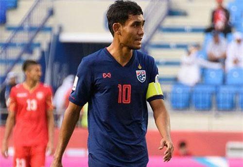 Teerasil Dangda hiện không còn là nhân vật không thể thay thế ở đội tuyển Thái Lan