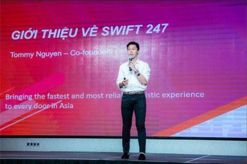Đồng sáng lập Swift247 - Tommy Nguyễn. Ảnh: VietJet.