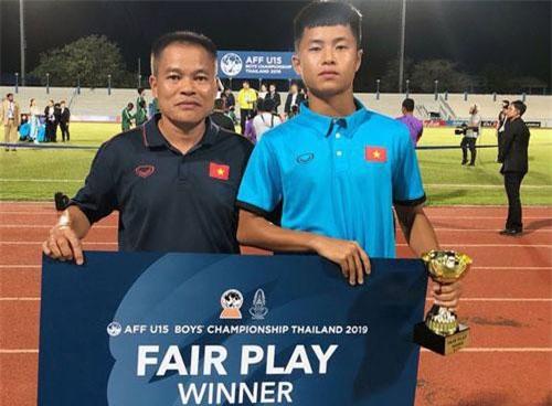 Đội U15 Việt Nam giành giải phong cách ở giải U15 Đông Nam Á