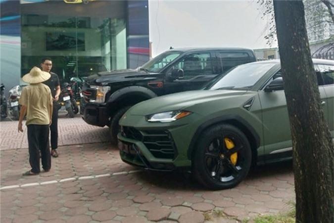 Dai gia Dang Le Nguyen Vu tau Lamborghini Urus 22 ty dong