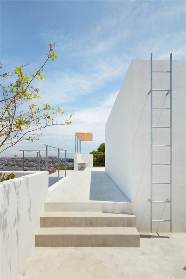Ngôi nhà có thiết kế mái vòm độc lạ làm sáng bừng cả khu phố - Ảnh 12.