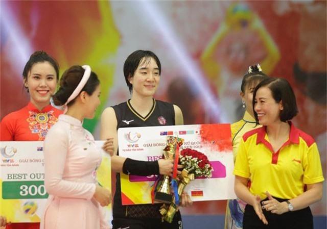 Những danh hiệu xuất sắc của giải bóng chuyền VTV Cup Tôn Hoa Sen 2019 - Ảnh 1.