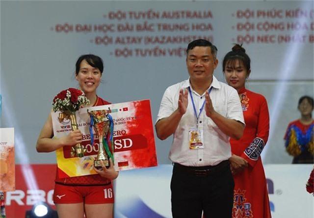 Những danh hiệu xuất sắc của giải bóng chuyền VTV Cup Tôn Hoa Sen 2019 - Ảnh 3.