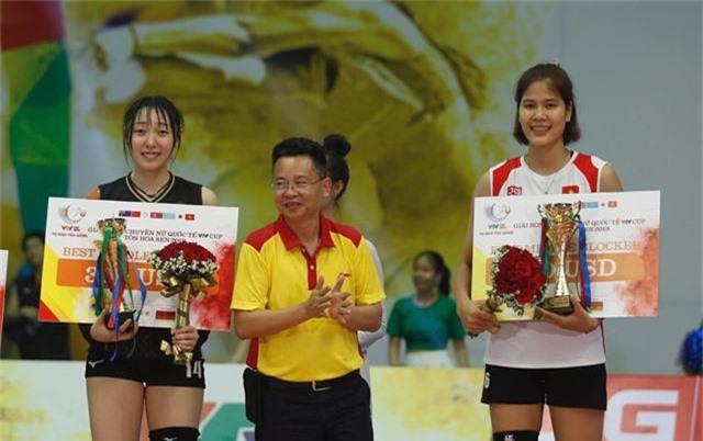 Những danh hiệu xuất sắc của giải bóng chuyền VTV Cup Tôn Hoa Sen 2019 - Ảnh 4.
