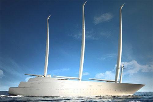 Siêu du thuyền Superyacht A.