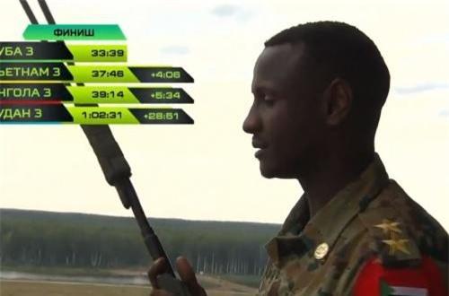 """Chỉ huy Sudan trên đài quan sát """"chết lặng"""". Nguồn ảnh: Tzvezda"""