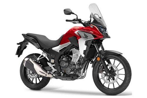 1. Honda CB500X 2019 (giá khởi điểm: 6.799 euro).