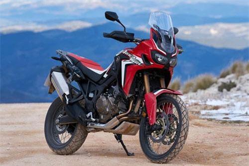 6. Honda CFR1000L Africa Twin 2019 (giá khởi điểm: 13.599 euro).