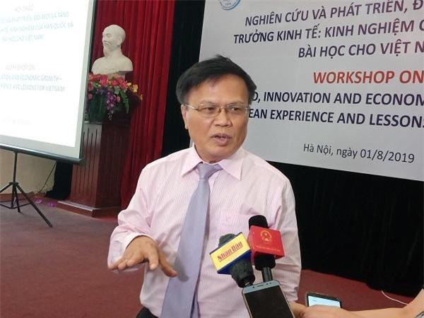 Ông Nguyễn Đình Cung - Viện trưởng CIEM.