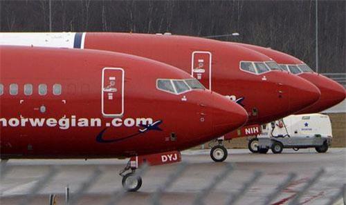 Máy bay của hãng Norwegian. Ảnh minh họa: Reuters.