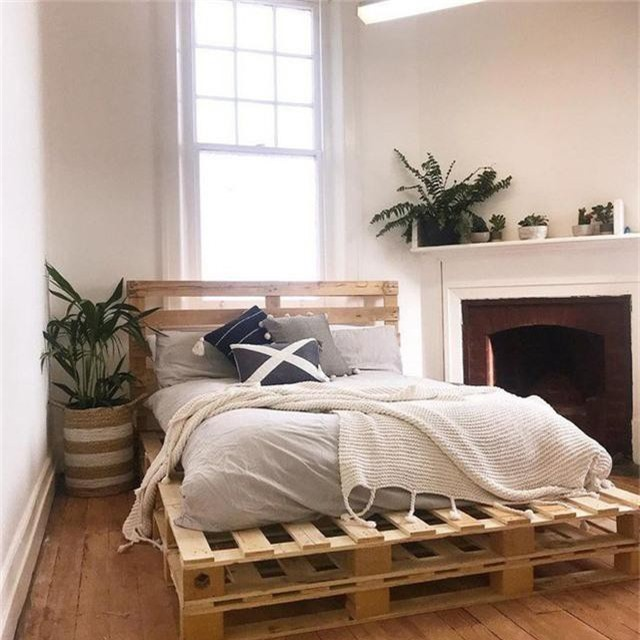Với kiểu giường này, bạn có thể thỏa sức sáng tạo theo nhu cầu sử dụng của bản thân về kích cỡ sao cho phù hợp nhất.