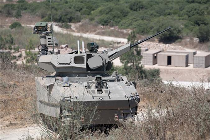 Ngo ngang xe chien dau bo binh tuong lai cua Israel-Hinh-2
