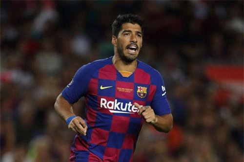 Tiền đạo: Luis Suarez.