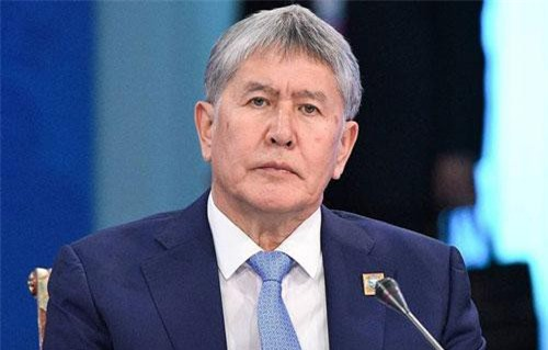 Cựu tổng thống Kyrgyzstan Almazbek Atambayev (Ảnh: Tass)