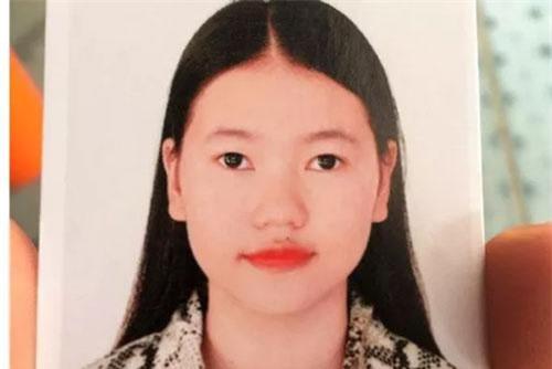 Chân dung Lê Thị Diệu Linh, nữ sinh được cho là mất tích tại Anh. (Ảnh hồ sơ do gia đình cung cấp).