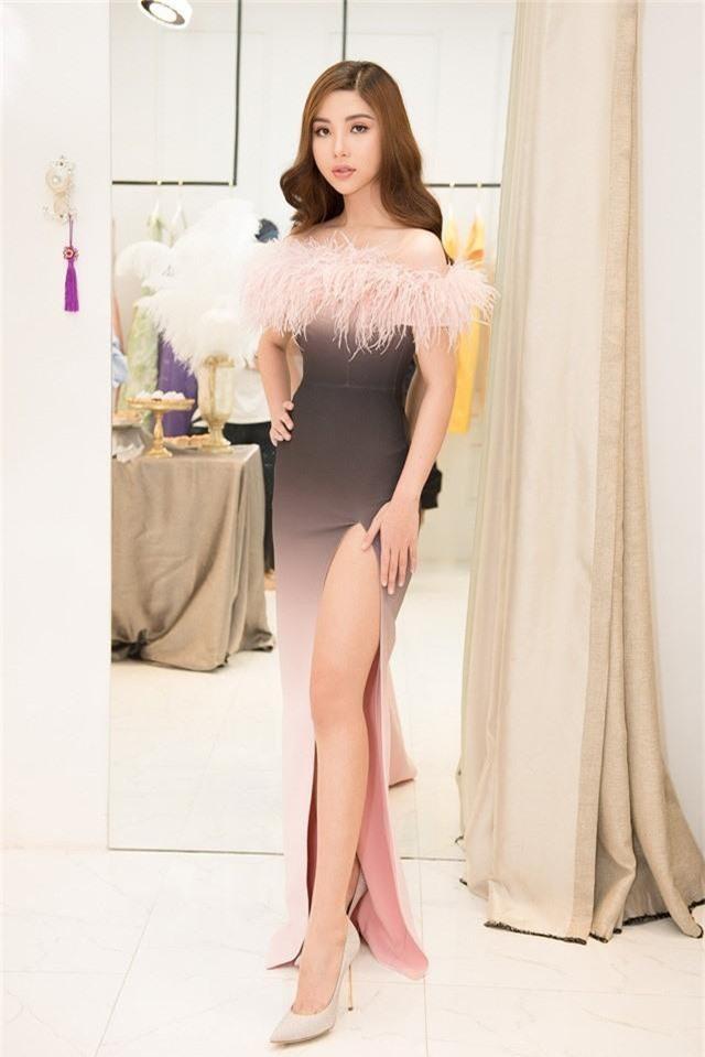 Sắp lên đường thi Hoa hậu, Mỹ Huyền chọn đụng đầm với HHen Niê, Hương Giang - Ảnh 7.
