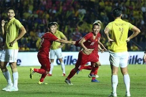 ĐT Việt Nam sẽ tái ngộ ĐT Thái Lan tại vòng loại thứ 2 World Cup 2022 sau chiến thắng tại King's cup hồi tháng 6.