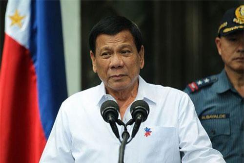 Tổng thống Philippines Rodrigo Duterte. Ảnh: abs-cbn.