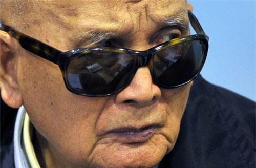 Thủ lĩnh Khmer Đỏ Nuon Chea năm 2011. Ảnh: Getty.