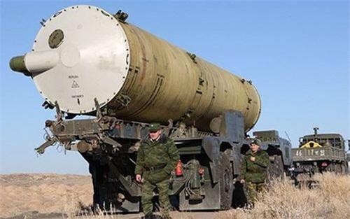Lắp đầu đạn hạt nhân cho tên lửa đánh chặn A-135 Amur là giải pháp khó mà tồi tệ hơn. Ảnh: TASS.