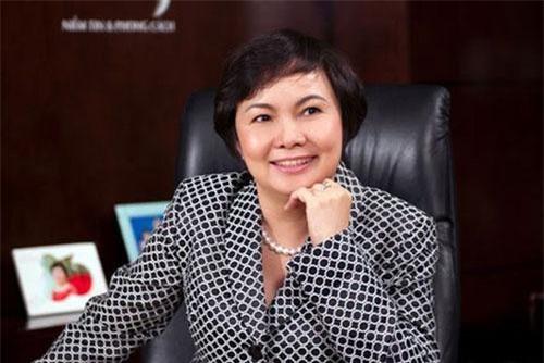 Vợ ông Trần Phương Bình - bà Cao Thị Ngọc Dung chính là bà chủ thương hiệu PNJ